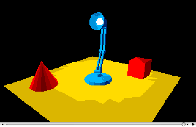 Lamp, An Atari Animation By Antic Software