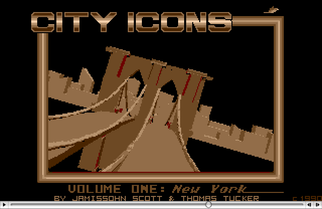 Atari ST Animations | Antic Software | City Icons: New York