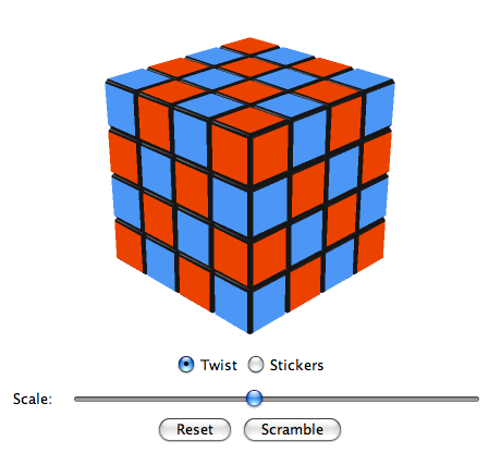 Virtual Cubes Revenge Cube | Dual-Colored Faces | Checkered Cube